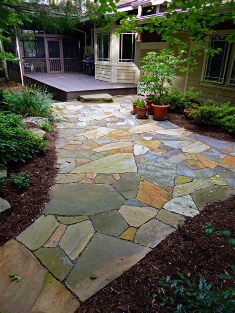 flagstone patios hammerhead stoneworks asheville
