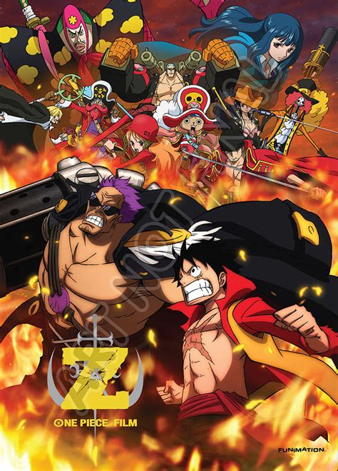 film one piece list funimation movie 12 dvd cover
