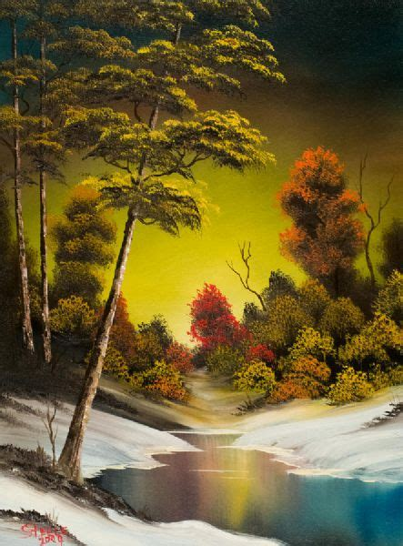 bob ross painting where to buy the gallery for gt country graphic novel