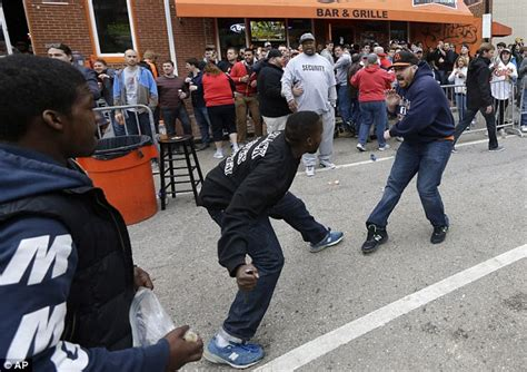 nigger violence freddie gray protesters in baltimore steal reporter s bag