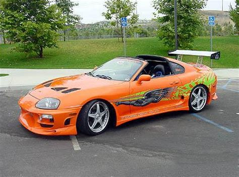 Why Are Toyota Supras So Fast 2 Fast 2 Furious Cars Carsut Understand Cars And Drive