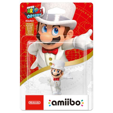 Amiibo Mario Wedding Mario Odyssey Series mario wedding amiibo mario collection nintendo official uk store