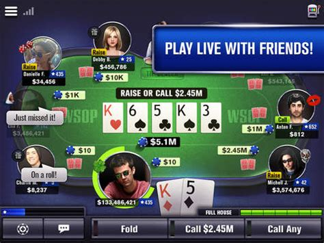 review the world series of poker app by ea