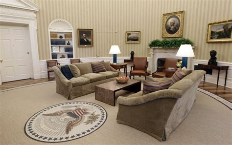 oval office decor through the years gilded colorizedhistory