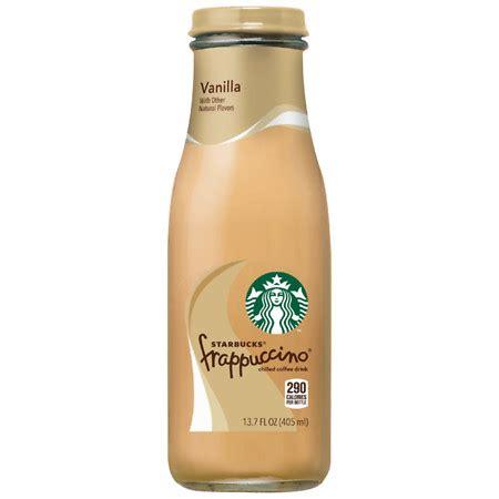 Vanilla Coffee Frappuccino starbucks coffee frappuccino coffee drink vanilla walgreens