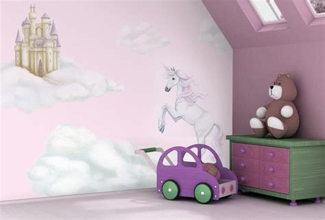 pink unicorn wallpaper by inspire murals available at