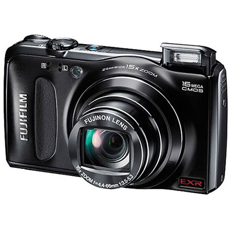 fujifilm finepix f500exr digital black 16112544 b h