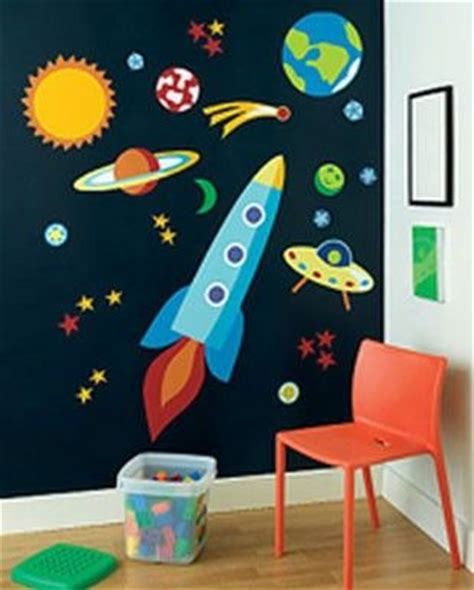 Jumbo Wall Murals outer space classroom theme door decorations space theme
