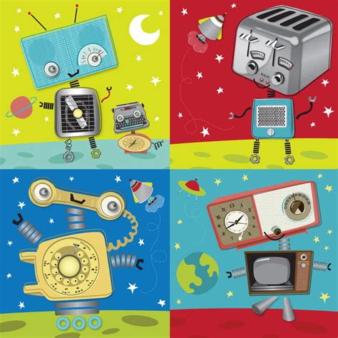 classic robot wallpaper retro robot wallpaper www imgkid com the image kid has it