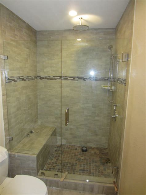 add a shower to a bathtub glass shower doors add an elegance and style to the