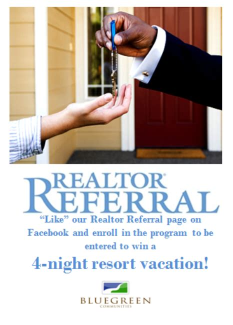 Realtor Sweepstakes - real estate professionals enter to win a 4 night resort vacation from southstar