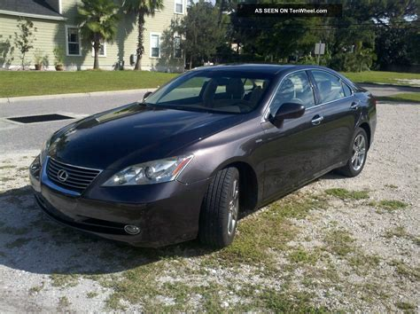 lexus sedan 2008 2008 lexus es350 base sedan 4 door 3 5l