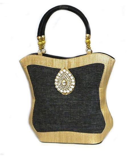 Handmade Jute Bags - buy handmade black jute bag at best prices in india