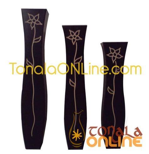floreros tonala jarrones decorativos en madera de tonala jalisco tonal 225