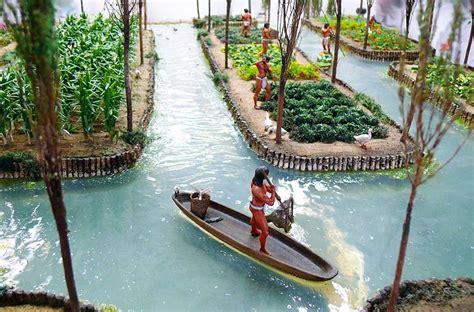 Aztec Floating Gardens by The Monkey Buddha November 2015