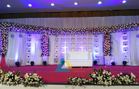 Decoration Reception by Wedding Reception Decoration Done At Bkn Auditorium
