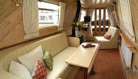 Traditional House Designs by Interior Designer Walnut Designs Narrowboat Interior