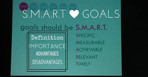 s m a r t goals definition importance advantages