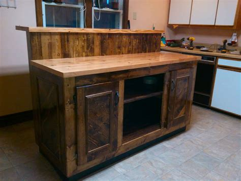 Pallet Kitchen Island | magnificent two tier pallet kitchen island 1001 pallets