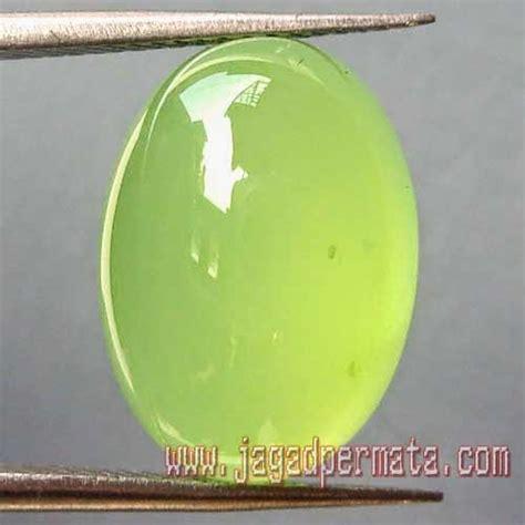 Batu Akik Phospor Kode 87 batu permata green chalcedony jual batu permata