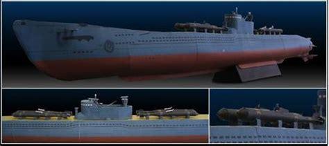 Papercraft Submarine - japanese wwii submarine papercraft paradise