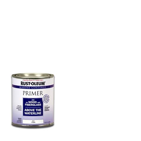 rust oleum marine  qt flat white wood  fiberglass