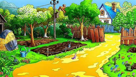 wallpaper cartoon nature 3d nature animation desktop wallpaper hd wallpaper
