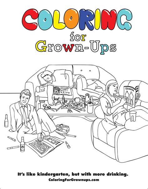 coloring book for grown ups sad and useless coloring book for grown ups