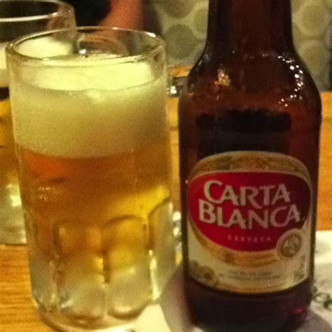 carta blanca carta blanca beer mostly drinks