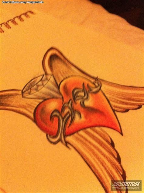 imagenes de corazones con alas y espinas corazon page tattoo pictures to pin on pinterest