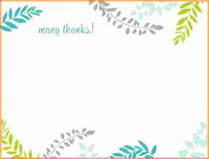 Thank You Card Template Word by Doc 600600 Microsoft Thank You Card Template Design