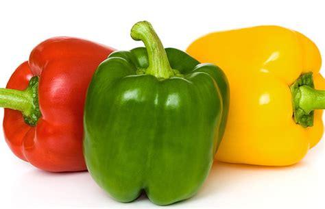 Paprika Kuning Sayur Sayuran Curah sayur sebagai makanan yang mengandung vitamin c melebihi buah jeruk