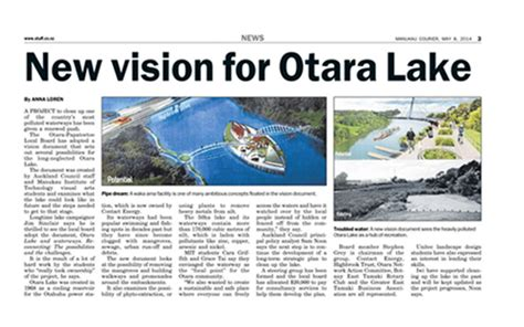 Landscape Architecture Articles Design Otara Lake Waterways Grace