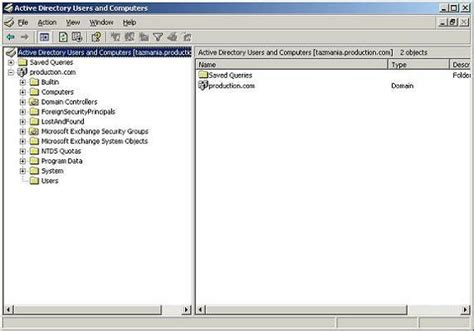 active directory console networking basics part 9 active directory information