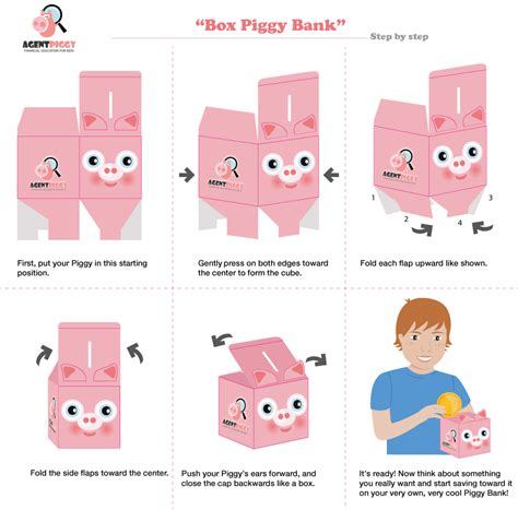 How To Make A Paper Bank - piggy