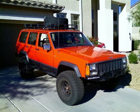 orange jeep cherokee you pick the new xj color nc4x4