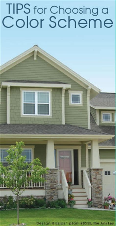 how to choose a home exterior color scheme design basics