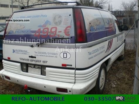 auto air conditioning service 1992 pontiac trans sport electronic throttle control 1992 pontiac trans sport gt 3 2 automatic air car photo and specs