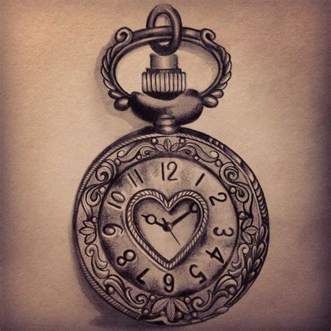 pocketwatch tattoo 19 pocket images pictures and ideas