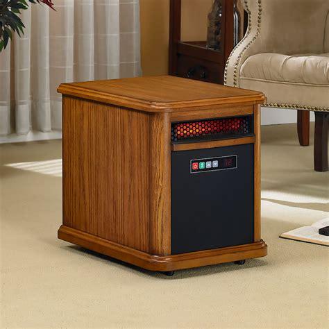 duraflame bristol 1 000 sq ft infrared heater in oak
