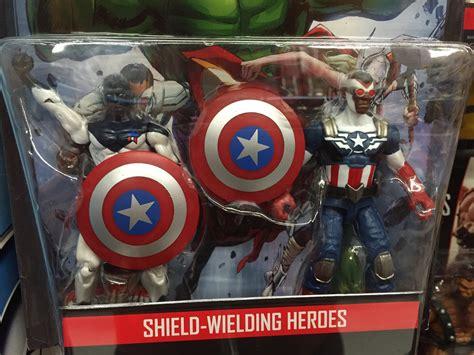 Marvel Legends Shield Wielding Heroes 2 Pack marvel legends 2016 comic two packs released thor