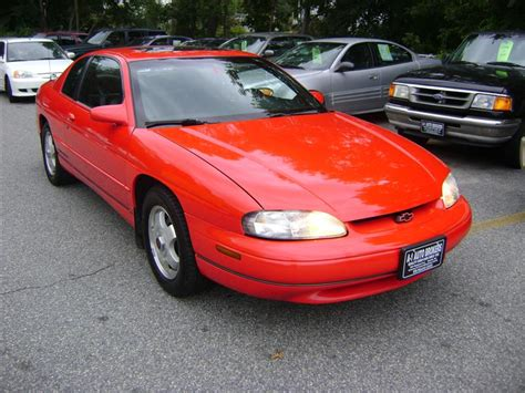 manual cars for sale 1998 chevrolet monte carlo engine control 1998 chevrolet monte carlo z34 for sale salem ma 6 cylinder red www cartrucktrader com id
