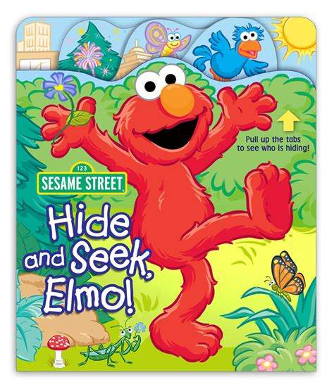 seek books sesame hide and seek elmo book by sesame