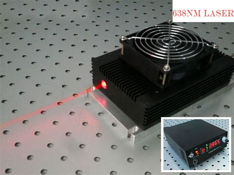 high power laser diode cooling 638nm 6 watt laser high power semiconductor laser diode cooling way tec 4 430 00 laser
