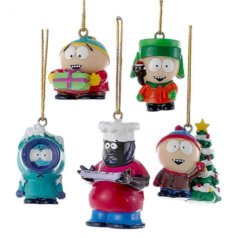 south park ornament set thinkgeek