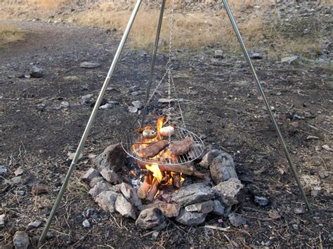 diy pit tripod grill diy backyard pit ideas all the accessories you ll