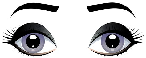 with eyebrows grey with eyebrows png clip best web clipart
