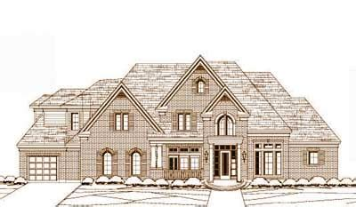 5000 square foot house plans luxury style house plans 5000 square foot home 2 story 5 bedroom and 4 bath 3