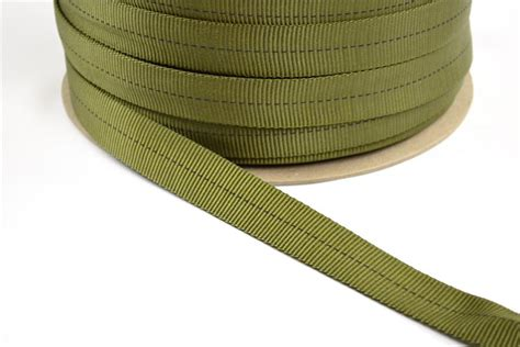 Webing Tubular Webing Untuk Hammock mil w 5625 tubular webbing 1 inch wide olive drab sold in by the roll quantities