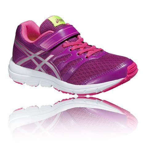 shoes asics junior gel zaraca 4 ps running shoes pink